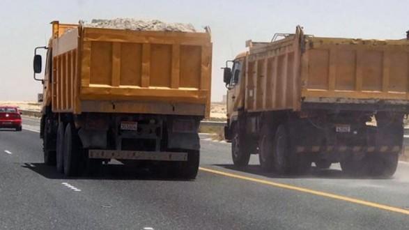 رئيس بلدية مشمش حذر سائقي الشاحنات من عدم سلوك الطريق الداخلية للبلدة