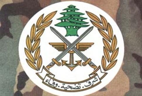 الجيش: توقيف 1997 شخصا من جنسيات متنوعة لتورطهم بجرائم مختلفة خلال ايار
