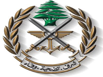 الجيش : توقيف أشخاص في محلة أنصارية لإقدامهم على تزوير العملة وترويجها