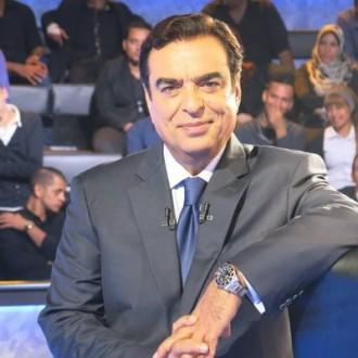 جورج قرداحي في برنامج تلفزيوني عالمي