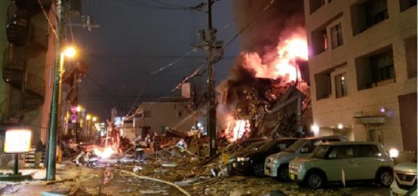 إصابة أكثر من 40 شخصاً في انفجار بمدينة سابورو في اليابان