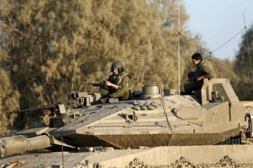 836d9a985 آليتان للجيش الاسرائيلي اجتازتا السياج التقني عند خراج بلدة ميس الجبل