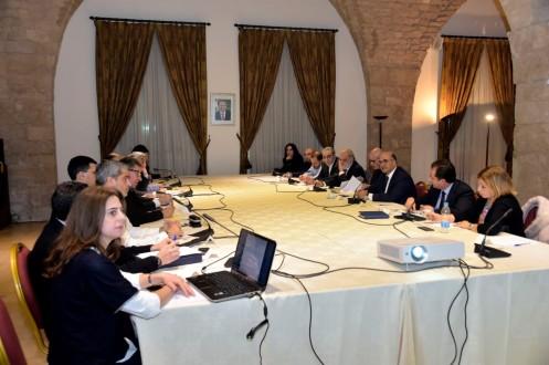 eb67ab3335669 لجنة متابعة اشغال الصرف الصحي ومياه الأمطار في بيروت الكبرى عقدت اجتماعها  التنسيقي الاول في السراي
