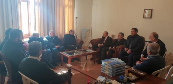 """الخليل التقى قيادة المنطقة الرابعة في """"أمل"""": لتطوير الخطط الإنمائية في المنطقة"""