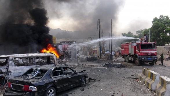انفجار عنيف يهز مصافي عدن