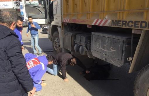 شاحنة تدهس امرأة سورية في النبطية!