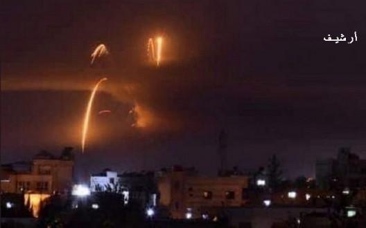 خاص- العدو الإسرائيلي يستهدف موقعا إيرانياً في جبل المانع بريف دمشق