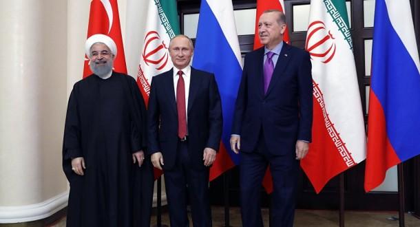 الكرملين: بوتين سيبحث مع روحاني وأردوغان خطوات تحقيق تسوية مستدامة في سوريا