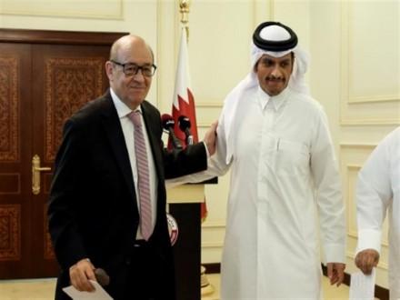 حوار استراتيجي شامل بين قطر وفرنسا