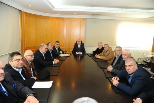فنيانوس التقى نقابات النقل وجمعية LEBANON BY BIKE