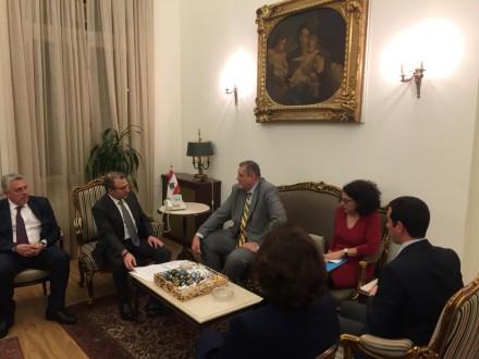 كوبش: سنعمل كشركاء ممتازين مع الحكومة اللبنانية الجديدة
