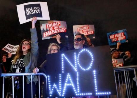 « Aucune décision » n'a été prise sur le financement du mur de Trump