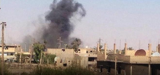"""إستشهاد 4 مدنيين إثر قصف طيران """"التحالف الدولي"""" على ريف دير الزور"""