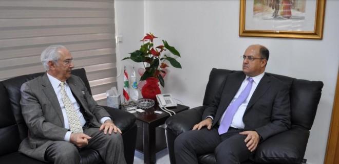 اللقيس استقبل رئيسة الكتلة الشعبية على رأس وفد من النقابات الزراعية ونقابة الاطباء البيطريين والاتحاد العام للنقابات في لبنان