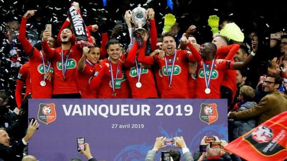 رين يتوّج بلقب كأس فرنسا على حساب باريس سان جيرمان