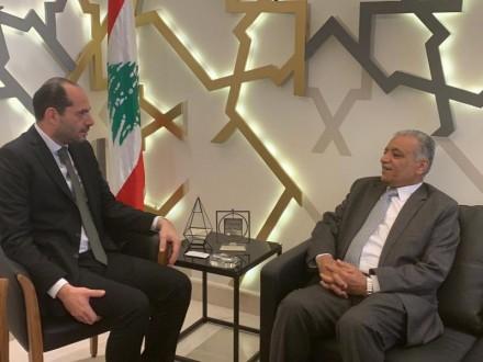 مراد بحث مع السفير العراقي في تفعيل اللجنة العراقية اللبنانية المشتركة