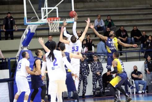 الشانفيل قلص الفارق والرياضي في نصف نهائي بطولة كرة السلة
