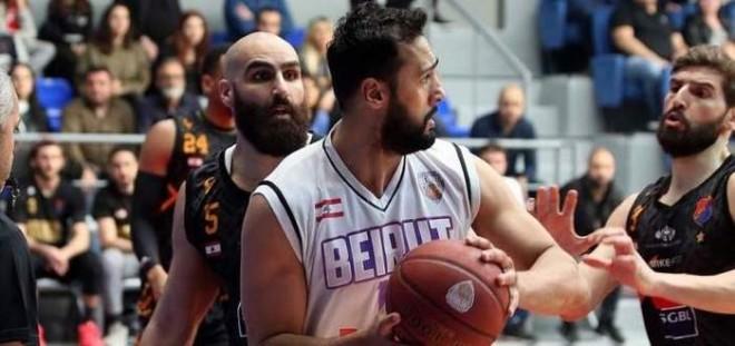 بيروت يتقدم على الهومنتمن 2-1 في السلسلة النصف نهائية