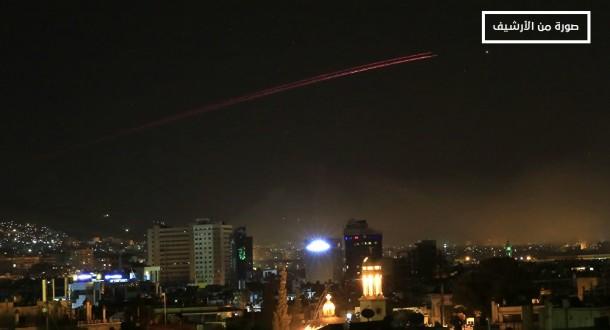 """مصد عسكري لـ """"ملحق"""": جيش العدو الاسرائيلي أقدم على إطلاق عدد من الصّواريخ من مواقعه في الجولان"""