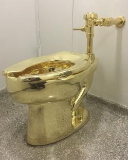 مرحاض من الذهب في قصر بلينهايم