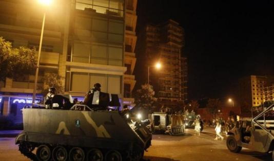 """243ae2468 ملحق: الجيش اللبناني يداهم في منطقة """"الليلكي"""" بالضاحية الجنوبية بحثا عن  مطلوبين"""