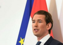 Austrain Chancellor Sebastian Kurz gives a press conference in Vienna on May 18, 2019.  Kurz  announced fresh elections after explosive revelations from a hidden camera sting forced his deputy, far-right leader Heinz-Christian Strache, to resign, bringing an end to his coalition. - Austria OUT  / AFP / APA / HELMUT FOHRINGER