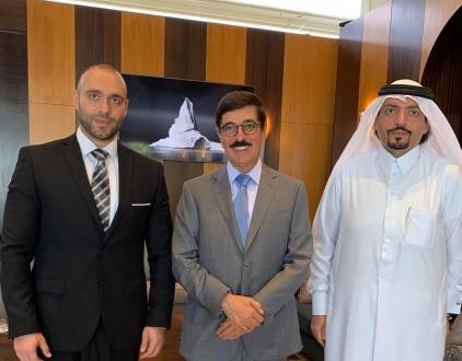 وزير قطري وصل الى بيروت ممثلا الشيخ تميم للمشاركة في جنازة صفير