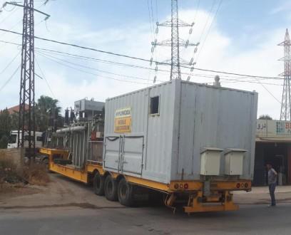 وصول محطة كهرباء نقالة إلى الهرمل