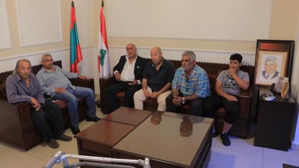 أسامة سعد استقبل وفدا من اتحاد بلديات صيدا الزهراني