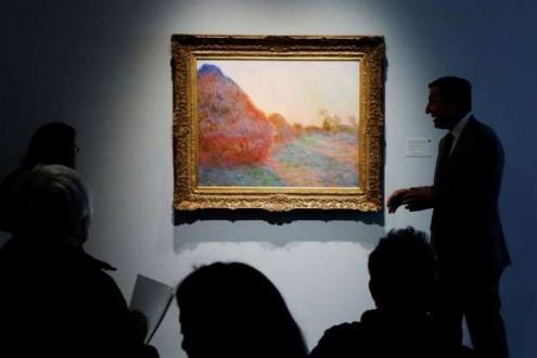 بيع لوحة لمونيه برقم قياسي تجاوز الـ 100 مليون دولار !