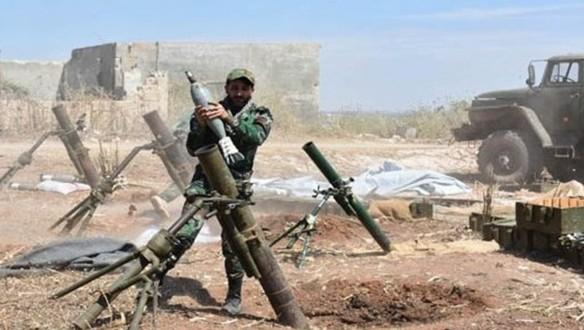 """الجيش السوري يستهدف تجمعات وآليات """"جبهة النصرة"""" بريفي إدلب وحماة"""