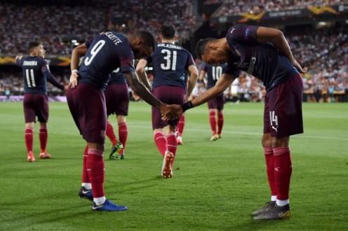 مَدافِع أرسنال تضرب فالنسيا وتتأهل لنهائي الدوري الأوروبي