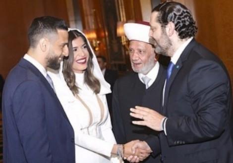 أمير سعود يدخل القفص الذهبي بحضور الحريري ودريان