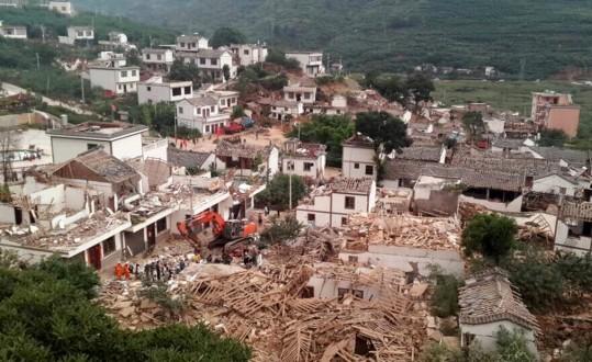 12 قتيلا على الأقل و134 جريحا في زلزال في جنوب غرب الصين