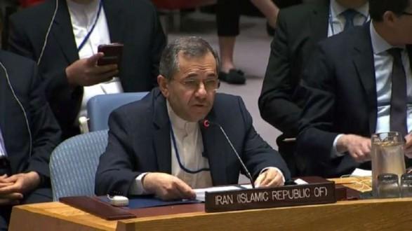 المندوب الإيراني لدى الأمم المتحدة: لا نقبل بالحوار مع واشنطن تحت التهديد