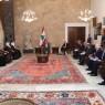 عون استقبل وفد مجلس الشورى السعودي