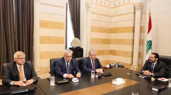 الحريري استقبل مبعوث الرئيس الروسي وسفيري أرمينيا وتشيلي ونوابا