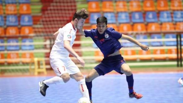 خسارة قاسية لمنتخب لبنان للشباب امام تايلاند في بطولة آسيا للشباب بكرة الصالات