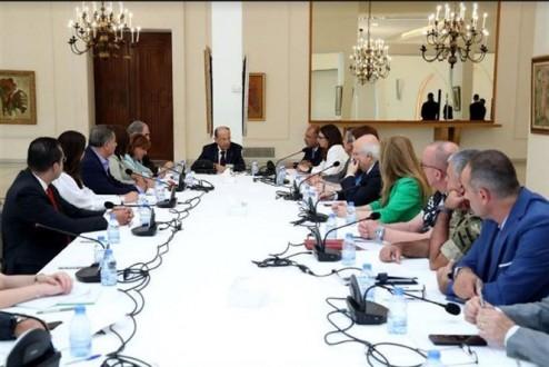 اجتماع للجنة العليا لتنظيم تحضيرات الاحتفالات بمئوية لبنان الكبير بحضور الرئيس عون