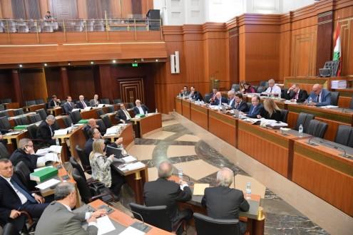 انطلاق جلسة لجنة المال والموازنة