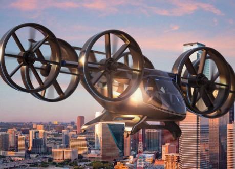 إطلاق أولى رحلات تاكسي المروحية