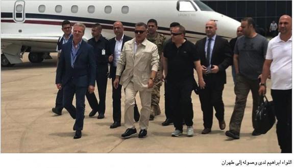 إبراهيم يصل مع زكا من طهران… و«القومي»: تصريحات فريدمان تفضح مؤتمر المنامة