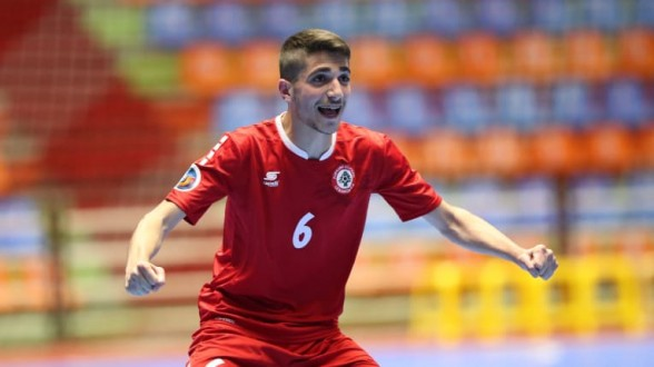 بطولة آسيا لكرة الصالات تحت 20 عاماً: لبنان يفوز على قرغيزستان ويتأهل إلى ربع النهائي