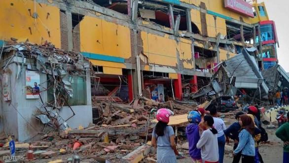 زلزال بقوة 7.3 يهز شرق اندونيسيا