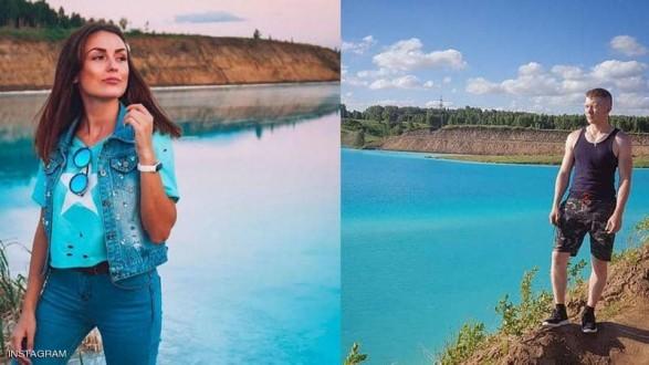 من أجل صور سيلفي.. سياح يتوافدون لبحيرة روسية سامة