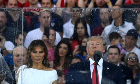 Donald Trump's July 4th jamboree: symbolic, jingoistic and untraditional