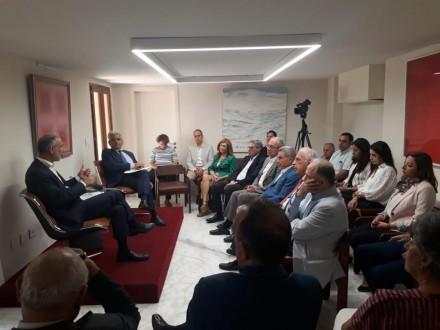 شرف الدين في لقاء حواري: النظام المصرفي اللبناني بات موثوقاً في الداخل والخارج