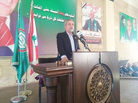 بزي: نرفض العقوبات المفروضة على بلدنا لانها تطاول الجميع