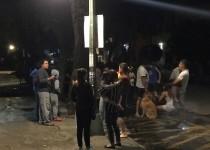 رد فعل بعض سكان مكسيكو سيتي بعد الزلزال الذي ضرب المدينة يوم الثلاثاء. تصوير: كارلوس جاسو  - رويترز