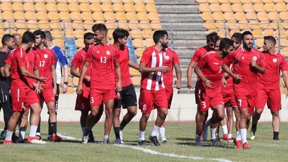 منتخب لبنان بدأ تحضيراته لبطولة غرب آسيا في العراق